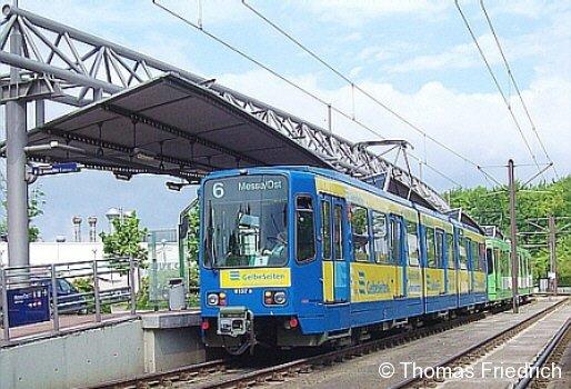 Stadtbahn TW 6000, Hannover Nordhafen, 21.05.2005