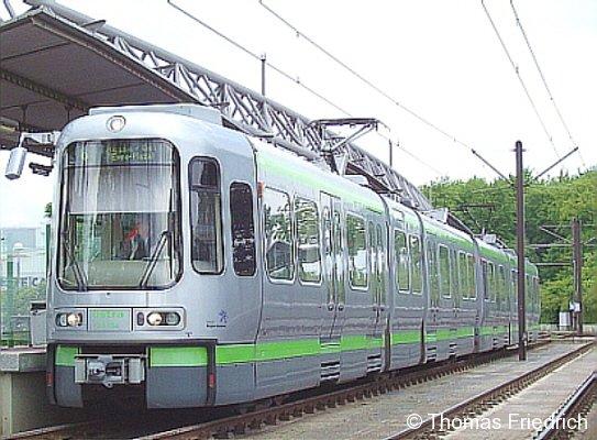 Stadtbahn TW 2000, Hannover-Nordhafen, 21.05.2005