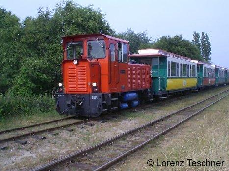Passend zu den Sommerferien: Die Inselbahn auf Borkum
