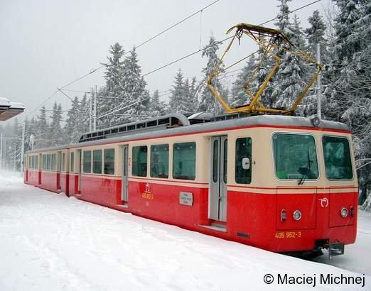 Zahnradbahn ZS OZ 405 952-3 Strbske Pleso