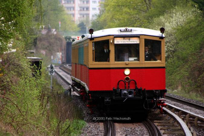 ET165 kurz vor Frankfurter Allee