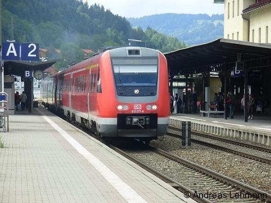 RegionalExpress von Oberstdorf - Ulm Hbf