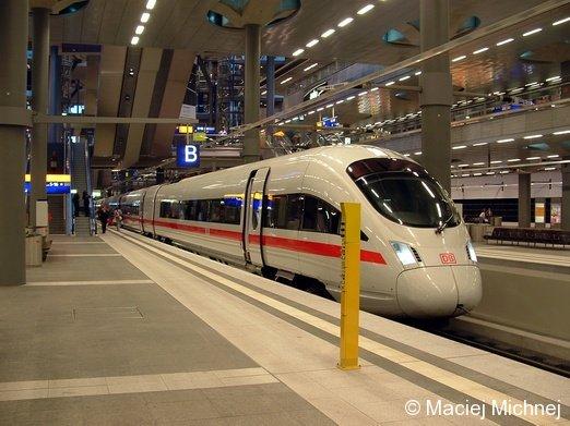 ICE-T Berlin Hauptbanhof, 21.09.2006