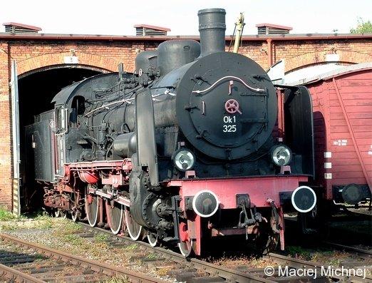 Die Baureihe 38.10 (pr. P8)   Eisenbahnmuseum Jaworzyna Slaska (Polen) 29.09.2006