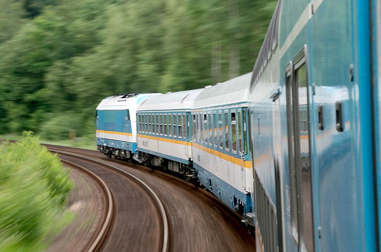 Das Gefühl einer Fernreise: Unterwegs mit dem ALEX durch Oberfranken am 3.06.2012.