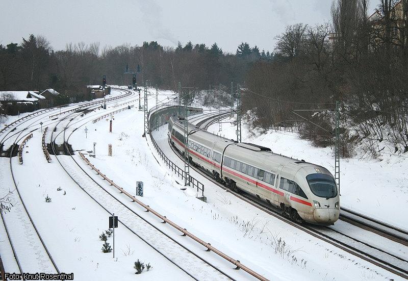 Zwischen Berlin, Hamburg und Kopenhagen verkehren seit einigen Jahren die Diesel-ICE der Baureihe 605. 605 017