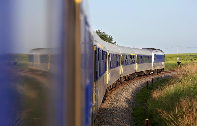 Eine Mitfahrt mit der Mitteldeutschen Regio Bahn am 22.05.2016